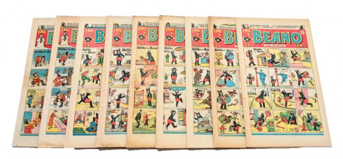 The Beano Comic 1949 Complete Year Issues 352 - 389 D.C. Thomson
